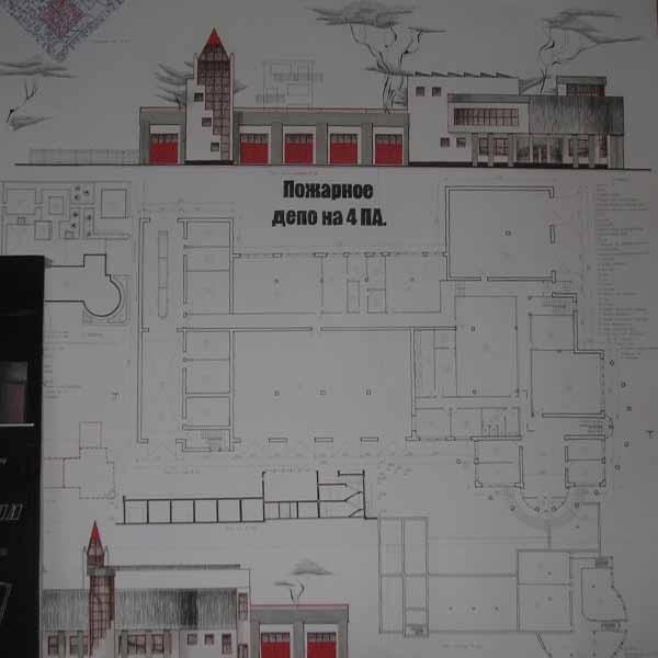 Проект Пожарного Депо скачать - jobletitbit
