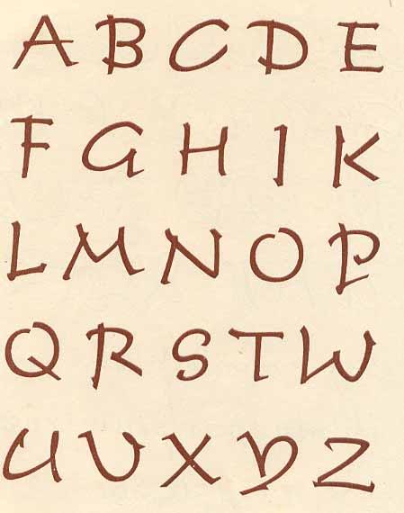 Старорусские древнерусские шрифты
